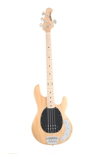 Ernie Ball Music Man Stingray 4 Bass, Natural, Maple Board
