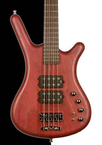 Warwick German Pro Series Corvette $$ Bass, Burgundy Red OFC