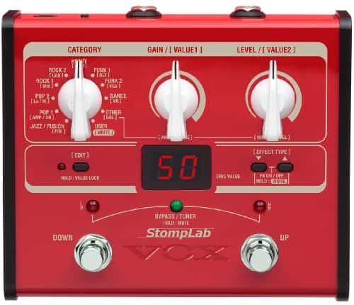 Vox StompLab 1B Modeling Bass Guitar Effects Pedal