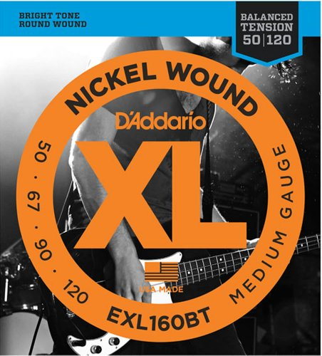 EXL160BT Nickel Wound, Balanced Tension Medium, 50-120
