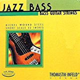 Thomastik-Infeld T-I JAZZ Flatwound Bass Strings